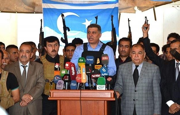 Türkmenler IŞİD'e karşı silahlanıyor