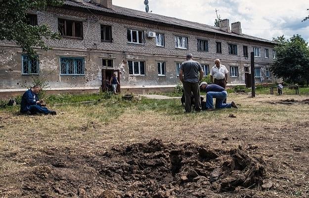 Ukrayna'nın doğusundaki Lugansk'ta çatışma