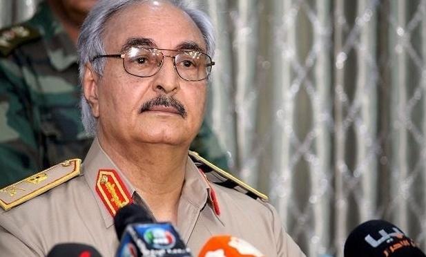 Libya'da Hafter için yakalama kararı