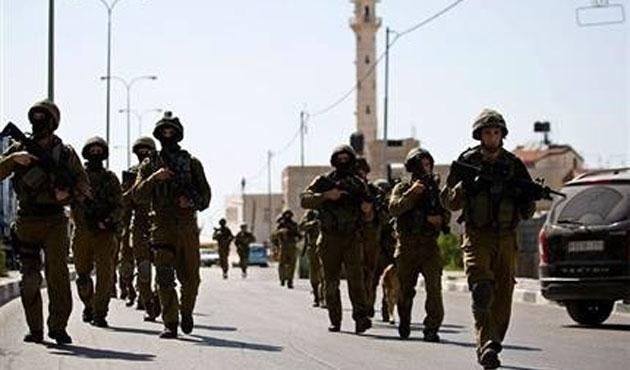 İsrail Batı Şeria'da yine saldırdı: Yaralılar var