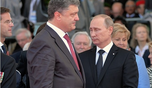 Putin ve Poroşenko olası ateşkesi konuştu