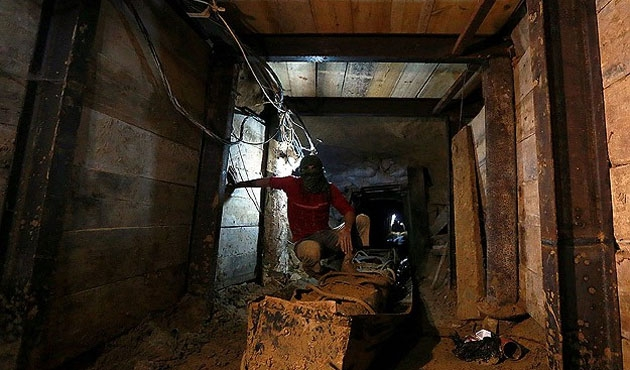 Gazze'de tünel kazası: 6 ölü