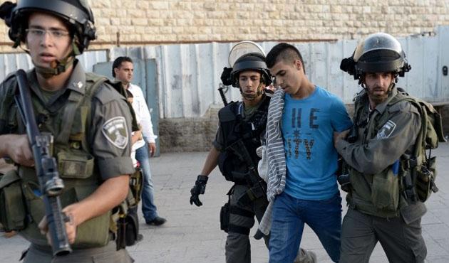 Gözaltındaki Filistinli sayısı 300'ü aştı