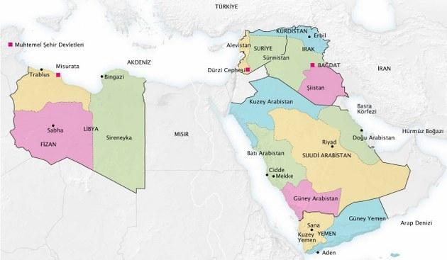 Ortadoğu'da eski haritalar yeniden gündemde!