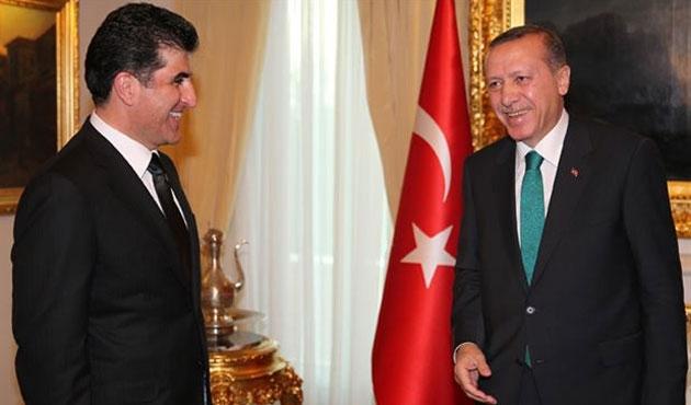 Erdoğan'dan Barzani'ye 'Kürdistan'lı tebrik
