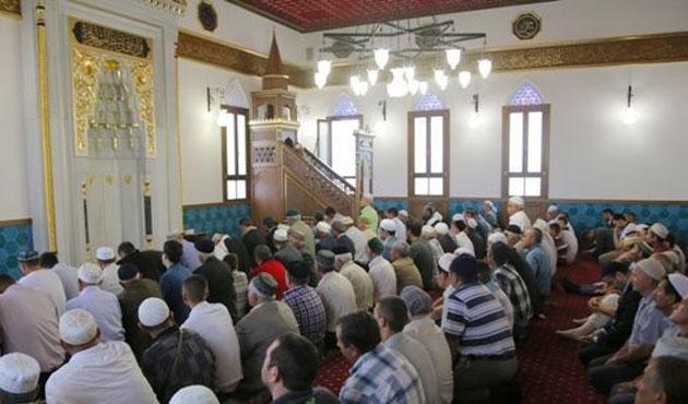 Kırım'da yakılan cami yeniden yapıldı