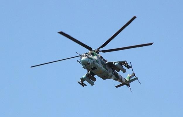 Rus ayrılıkçılar askeri helikopteri düşürdü