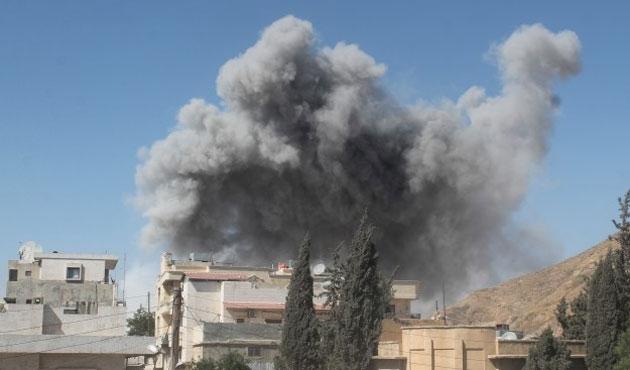 Suriye'den Irak'a hava saldırısı iddiası
