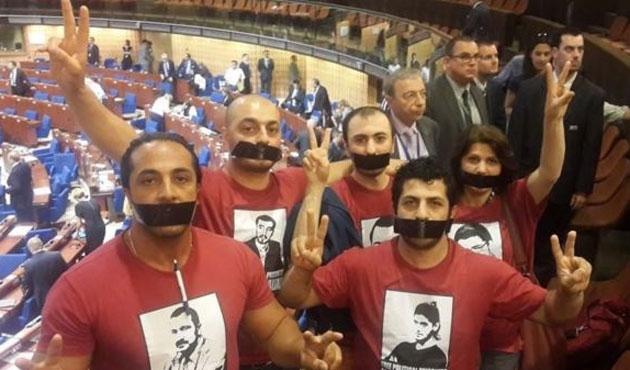 Aliyev Avrupa'da protesto edildi