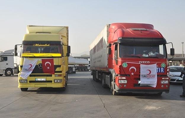 Kızılay'dan Sincar'daki Türkmenler'e yardım