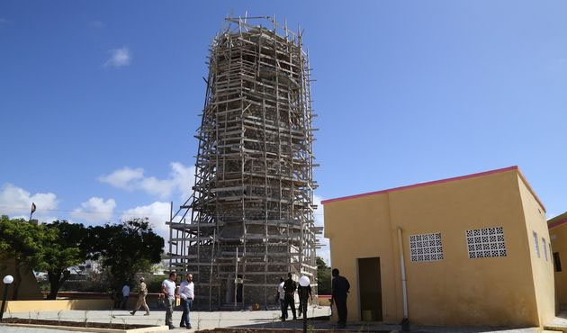 Somali'de 16. asırdan kalan bir cami