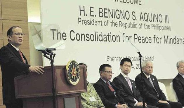 Filipinler devlet başkanı ile Moro temsilcisi görüştü
