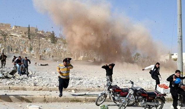 Halep'te hava saldırısı: 17 ölü