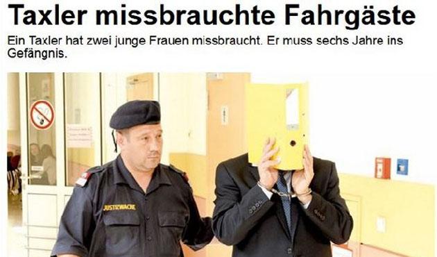 Avusturya gazetesinden 'İslamofobik' uygulama