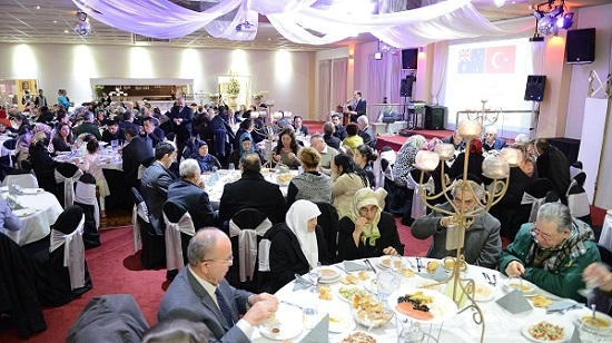 Melbourne'da iftar, iktidar ve muhalefeti buluşturdu