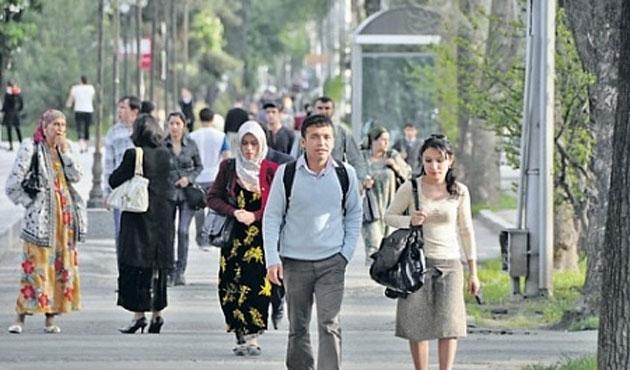 Tacikistan'da gösterilere sınırlama