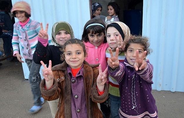 Suriye'de çocuk olmak tehlikeli