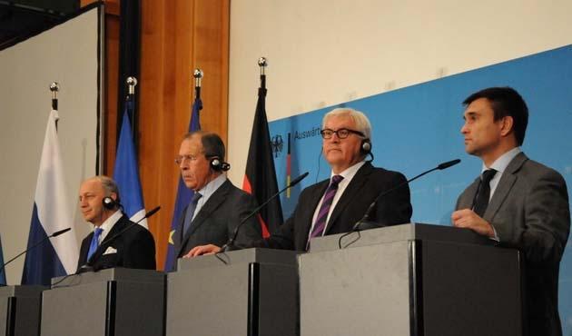 Berlin'deki Ukrayna zirvesinden ateşkes çağrısı çıktı
