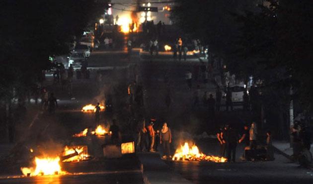 Gazi Mahalesi'nde gergin gece