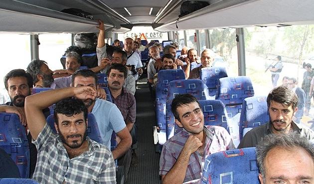 TIR şoförleri Türkiye'ye doğru yola çıktı