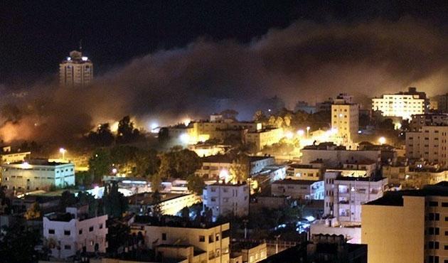 İsrail Gazze'ye yine saldırdı: Çok sayıda ölü var