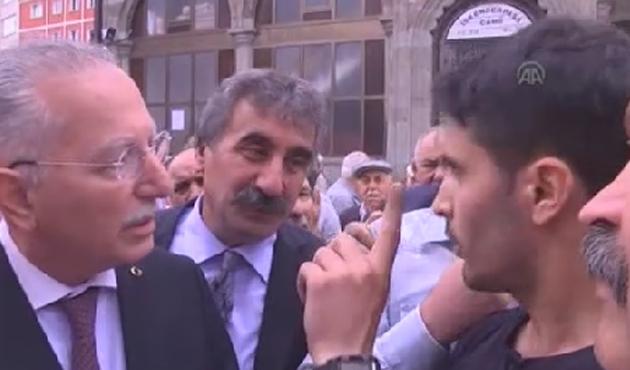 Üniversiteli hafızdan İhsanoğlu'na CHP sorusu-VİDEO