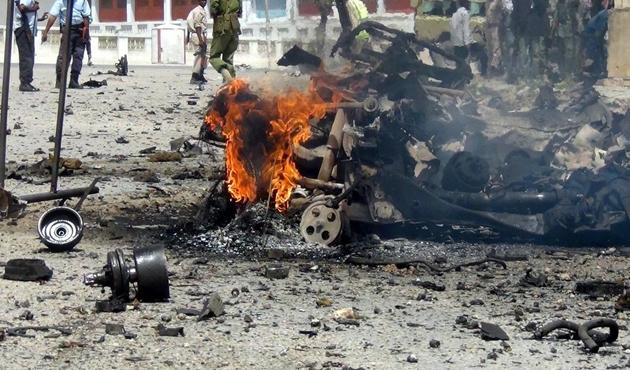 Somali'de bombalı saldırı: 4 ölü