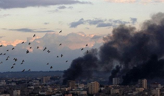Filistin'de İsrail saldırıları bu gece sürdü
