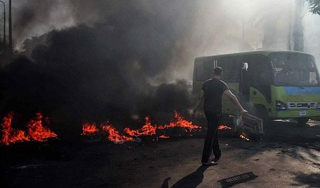 Mısır'daki darbe gösterilerinde beş yaralı
