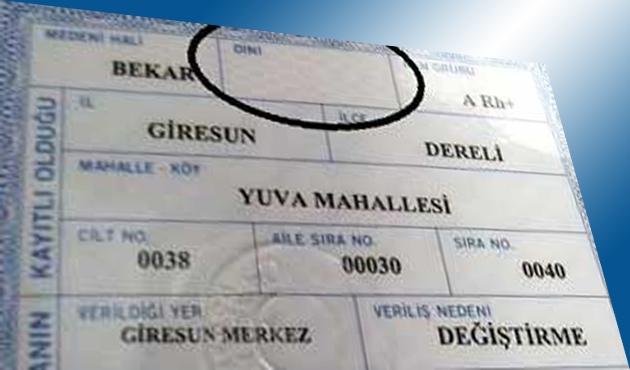 Kimlikteki 'din hanesi' CHP'yi rahatsız etti