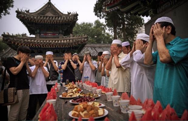 İlk cumasında dünyada ramazan-FOTO