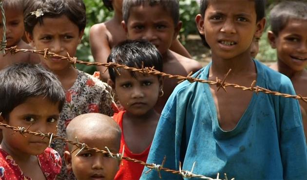 Arakanlıların toplama kamplarından-VİDEO