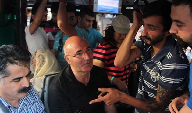 Otobüs şoförü CHP'li vekilleri karakola götürdü