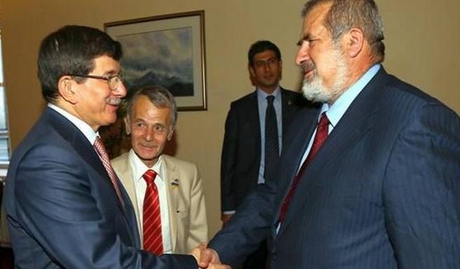 Kırımoğlu ve Çubarov, Davutoğlu'nun konuğuydu