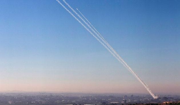 İsrail iddiası: Gazze'den Kudüs'e füze atıldı