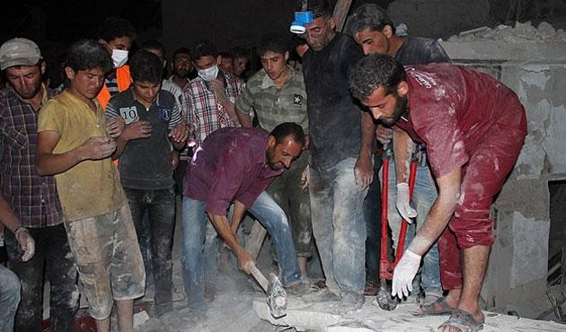Humus'ta cami saldırısında 15 kişi öldü