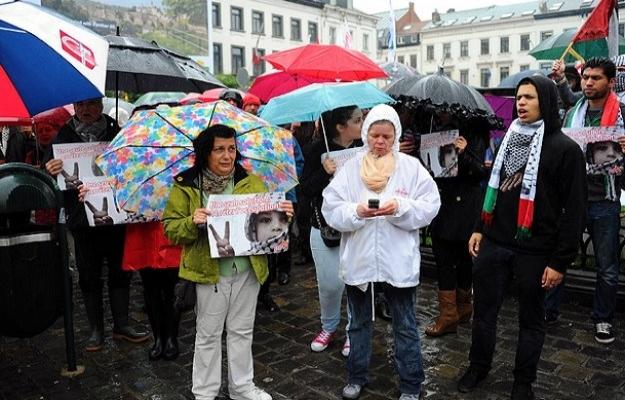 İsrail'in saldırıları İspanya'da protesto edildi
