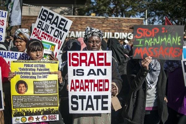 Güney Afrika'nın Gazze çığlığı
