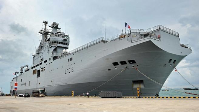 Fransa, Rusya'ya savaş gemisini teslim etmiyor