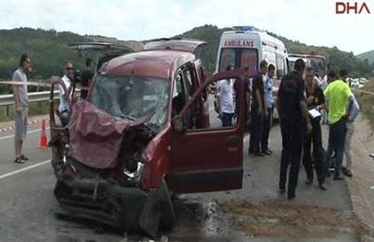 Beykoz'da trafik kazası: 3 ölü