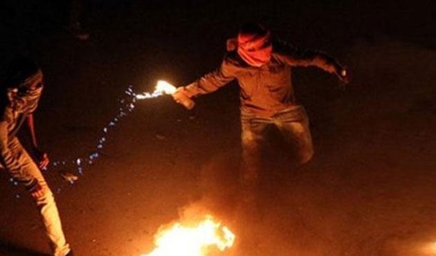 Siirt'te boş hastaneye molotoflu saldırı