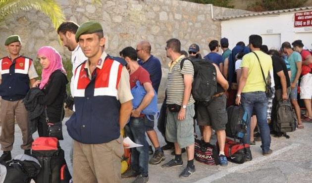 Edirne'de 65 kaçak yakalandı
