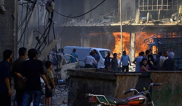 Şam'da hava saldırısı: 23 ölü
