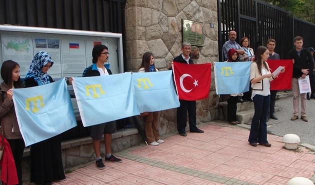 Kırım Tatarları Ankara'da anıldı