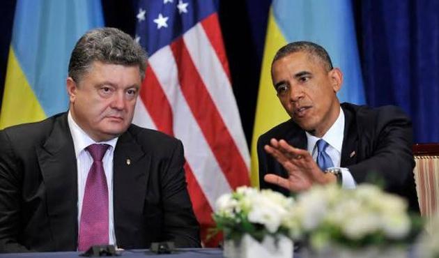 Ukrayna lideri Poroşenko Washington'da