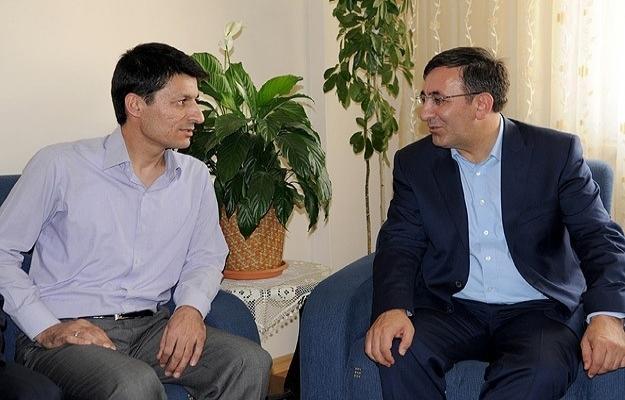 Kalkınma Bakanı Yılmaz Özkıraç'ı ziyaret etti