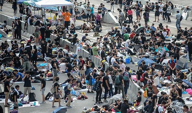 Hong Kong'da sessizlik hakim