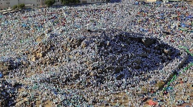 Arafat'ta vakfe heyecanı