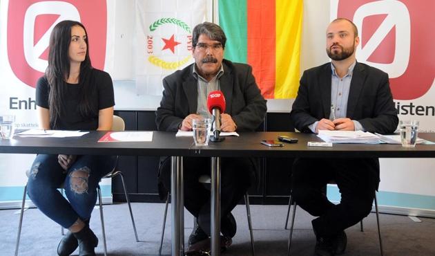 PYD Eşbaşkanı Salih Müslim Danimarka'da