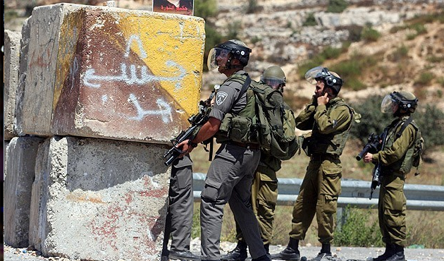 Filistin'de köy baskını